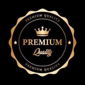 Garantia de qualidade premium ouro preto metálico brilhante