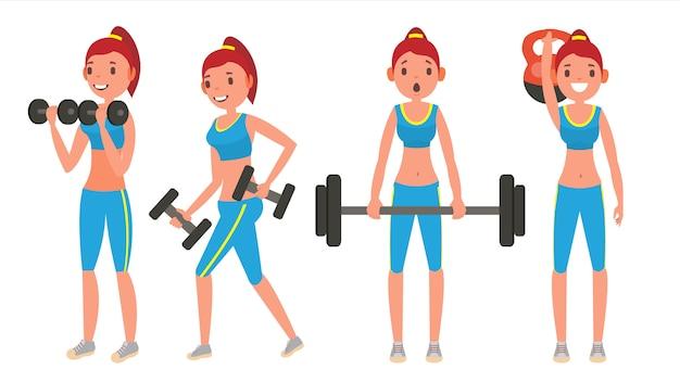 Garota de fitness