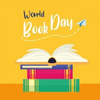 Garoto no dia mundial do livro