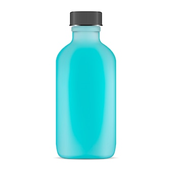Garrafa cosmética de vidro