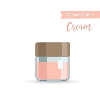 Garrafa de cosméticos