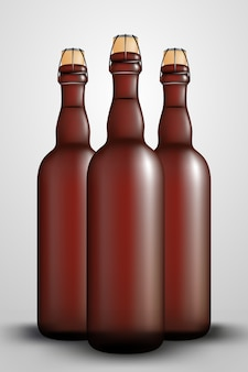 Garrafa de lúpulo tampa de garrafa de vinho longa