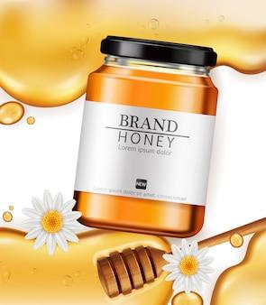 Garrafa de mel