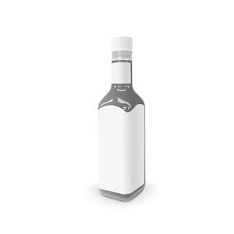Garrafa de molho em branco