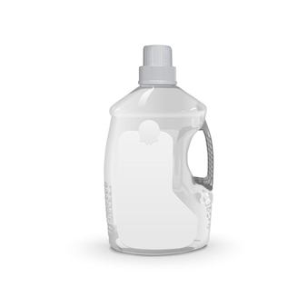 Garrafa de plástico de óleo de cozinha
