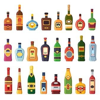 Garrafas de álcool