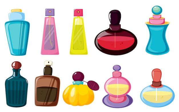 Garrafas de perfume
