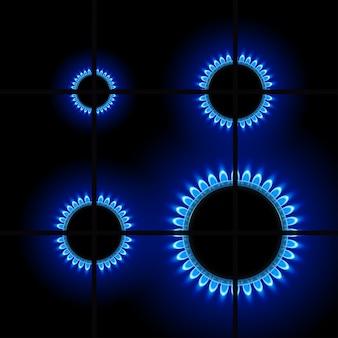 Gas8 no escuro
