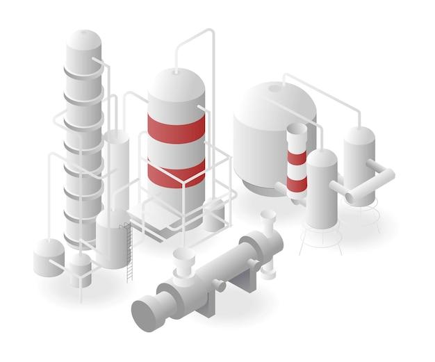 Gasoduto de planta industrial de biogás