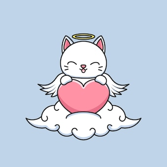 Gato anjo fofo