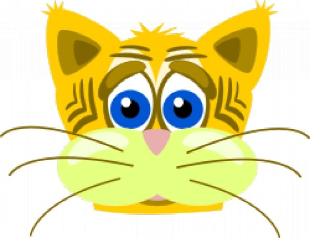 Gato tigre triste