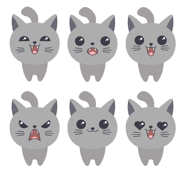Gatos emoji
