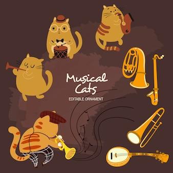 Gatos musicais