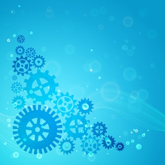 Gears background