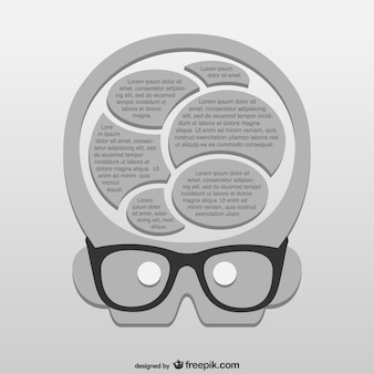 Gênio vector template download grátis