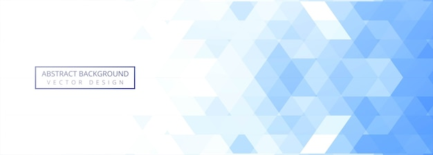 Geométrico abstrato azul