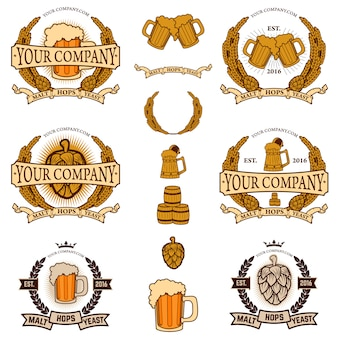 Gerador de rótulos de cerveja