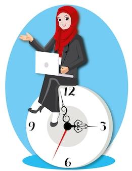 Gerenciamento de tempo com relógio