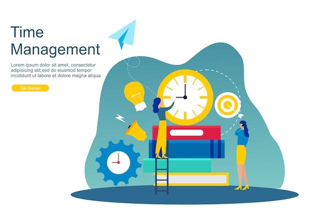 Gerenciamento de tempo de página da web e procrastinação