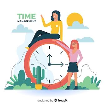 Gerenciamento de tempo para a página de destino