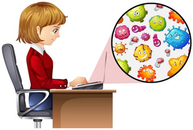 Germes em larga escala do computador