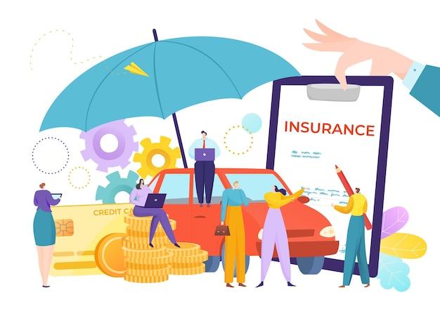 Gestão de apólice de seguro