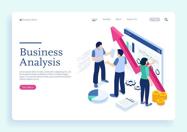 Gestão de projetos e estratégia de relatório financeiro e análise do crescimento dos negócios com personagens
