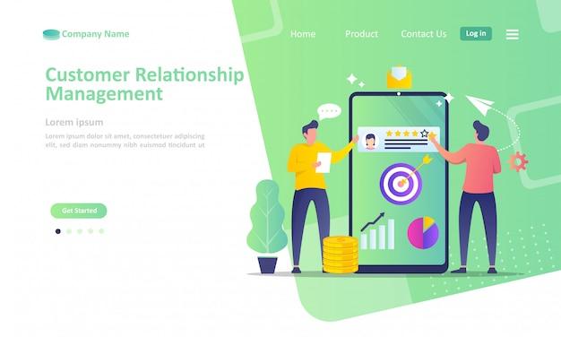 Gestão de relacionamento com clientes de negócios
