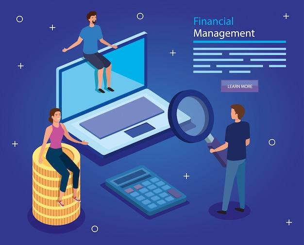 Gestão financeira com pessoas