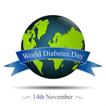 Globo e data de lembrança do dia de diabete mundial