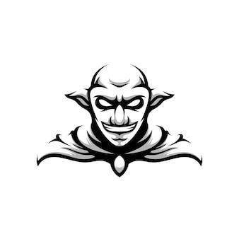 Goblin design preto e branco