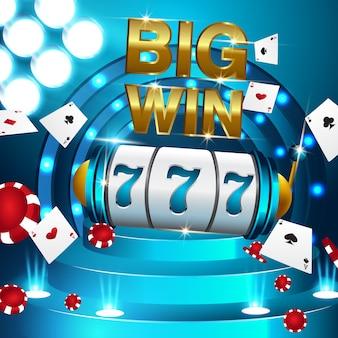 Golden big win slots 777 banner cassino voar moedas