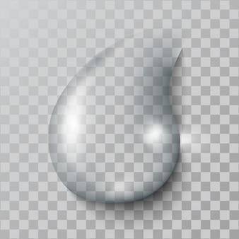 Gota de água realista