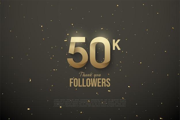 Graças a 50 mil seguidores com números padronizados.