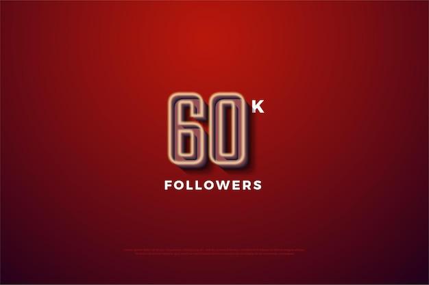 Graças aos 60 mil seguidores com números listrados de um branco leitoso desbotado.