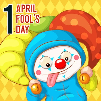 Gracejo engraçado de april fools day