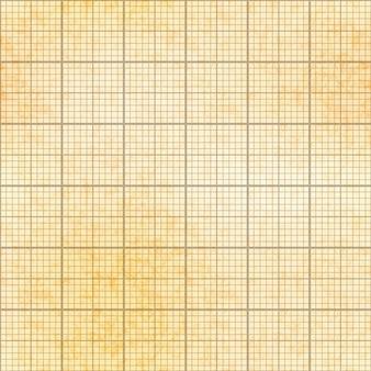 Grade de um milímetro em papel velho com textura, padrão sem emenda