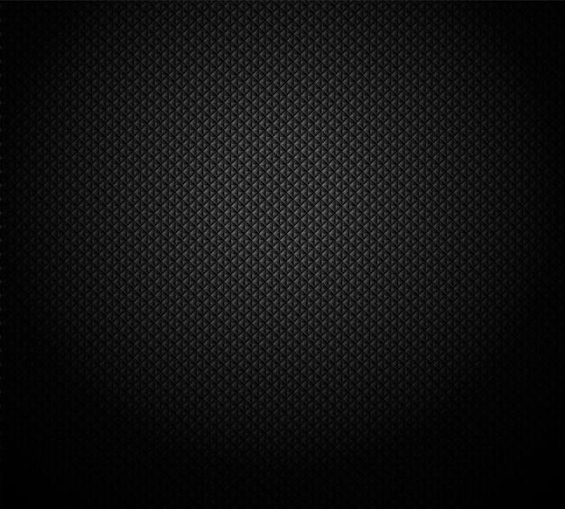 Grade geométrica preta escura