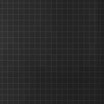 Grade preta estética padrão plano mínimo