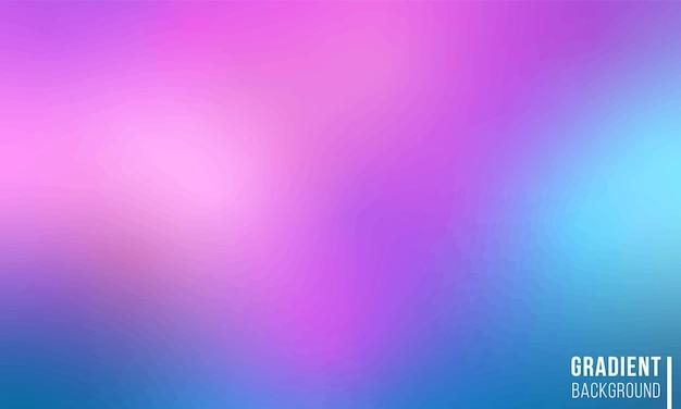 Gradient mesh background color ilustração colorida brilhante em estilo desfoque gradientes de cores suaves