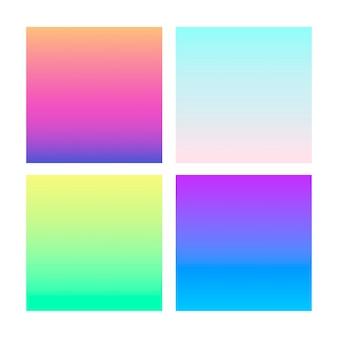 Gradiente abstrato na esfera de violeta, rosa, azul