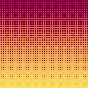 Gradiente amarelo vermelho e fundo do teste padrão, design da capa.