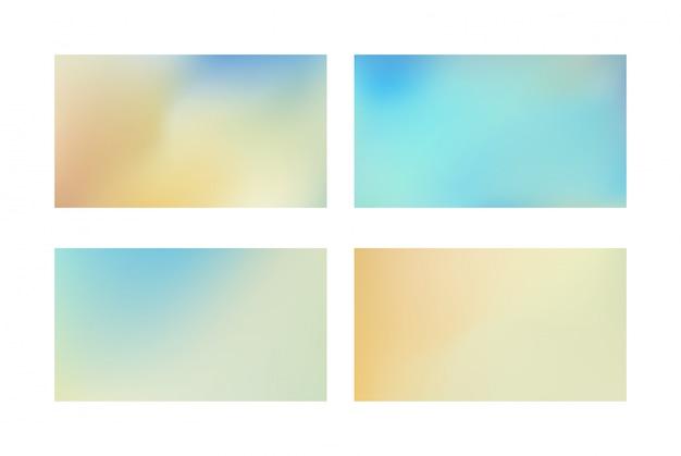 Gradiente azul abstrato