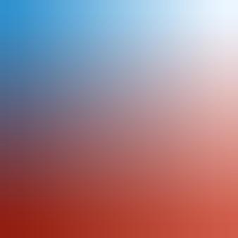 Gradiente, azul desfocado, branco, vermelho, fundo gradiente de quartzo rosa ilustração vetorial de fundo