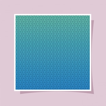 Gradiente azul e fundo, design da capa.