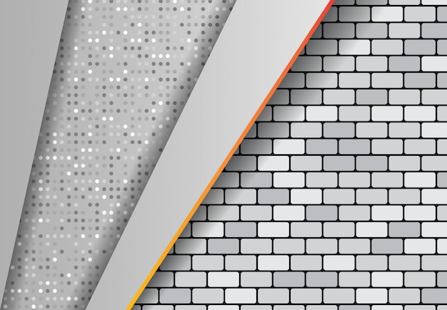 Gradiente de efeito abstrato, ponte de fundo cinza ponto