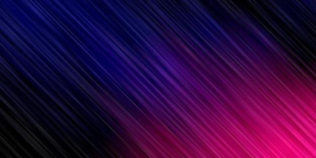 Gradiente de fundo abstrato. papel de parede escuro com listras vibrantes
