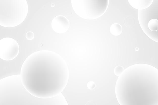 Gradiente de fundo branco monocromático