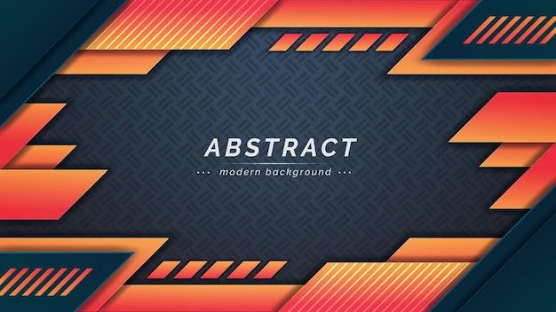 Gradiente moderno abstrato com formas geométricas