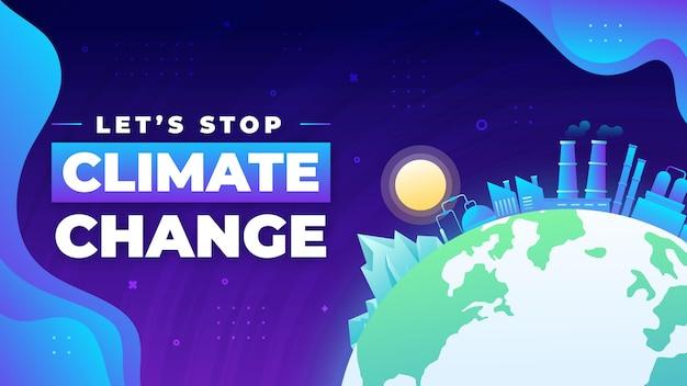 Gradiente mudança climática miniatura do youtube